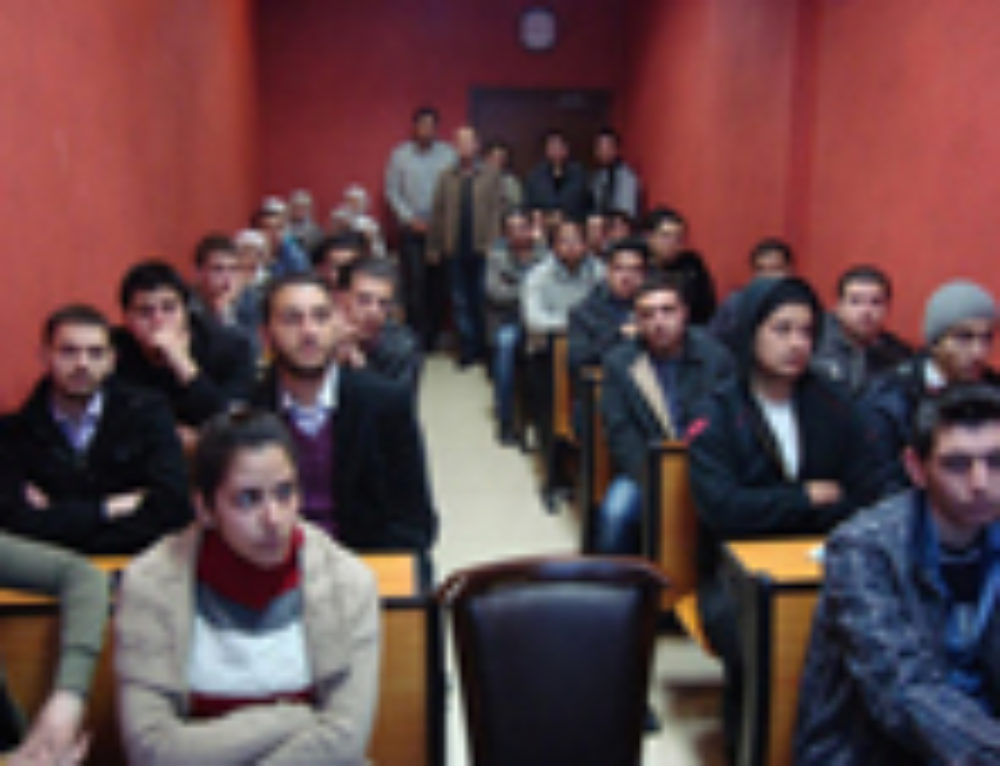 Arabic and Syrian Websites Covering the Event of Students Delegation Visit to SyrianSoft