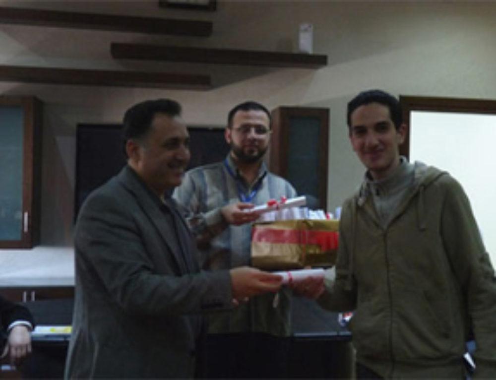 Students Delegation Visits SyrianSoft